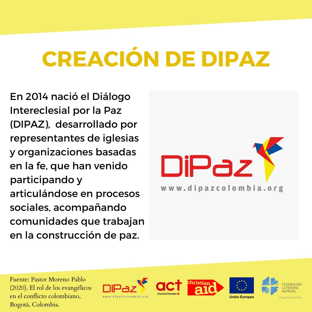 CREACIÓN DE DIPAZ 1 Informe el Rol de los Evangélicos en el Conflicto colombiano