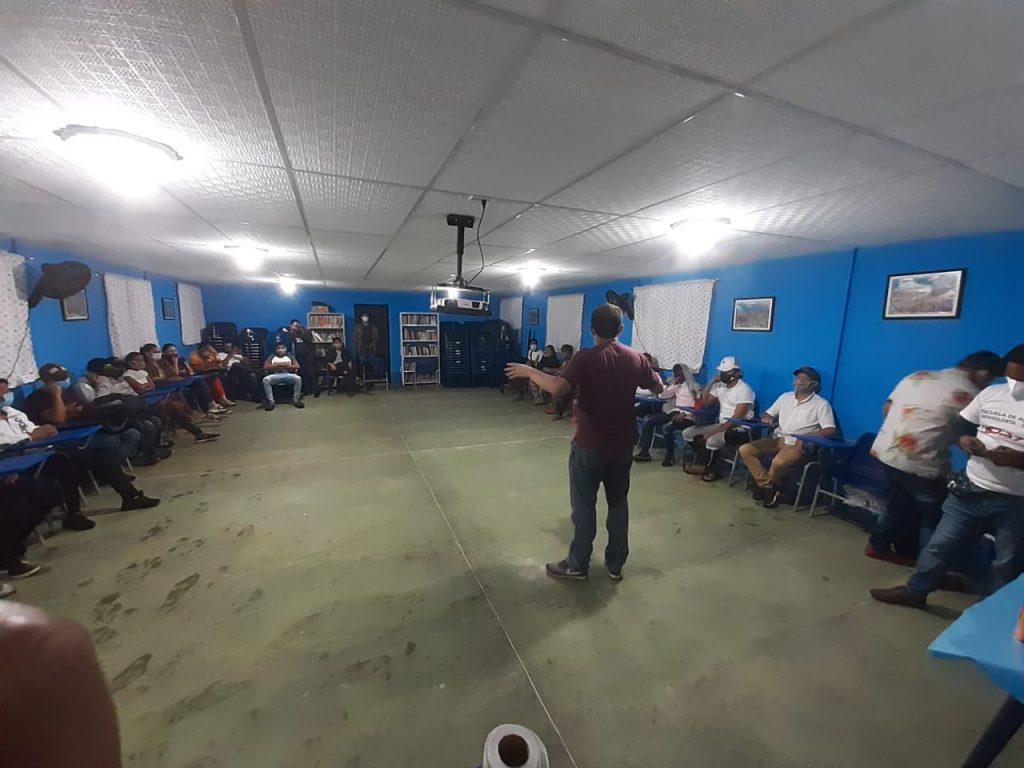 Milton jóvenes Ruta de la reconciliación en el Caribe colombiano: Crónica Pastoral