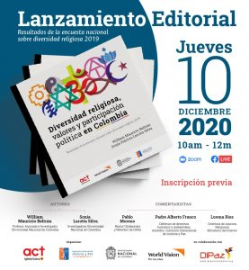 investigacion diversidad religiosa Estudio revela la situación de la diversidad religiosa en Colombia