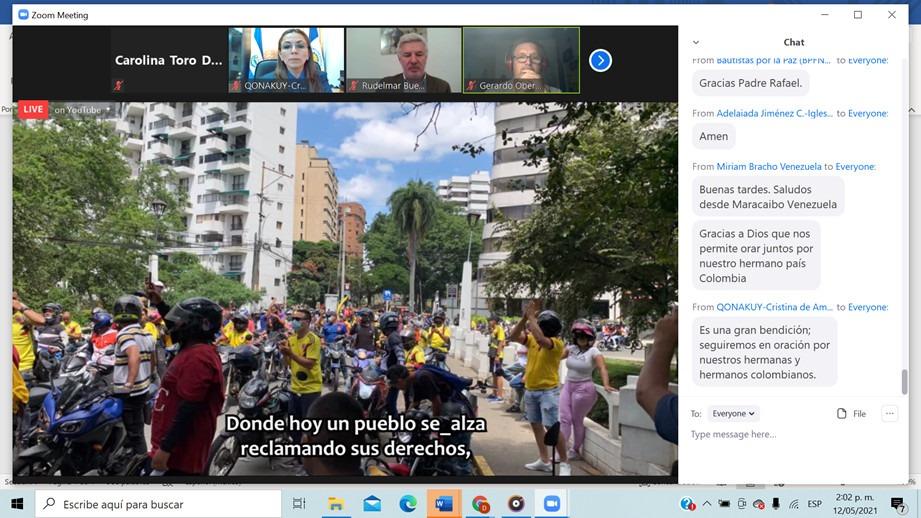 Bogota vigilia internacional1 Vigilia Internacional de Oración y Solidaridad por Colombia